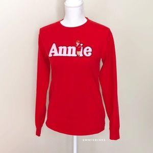 Tops - 2012 ANNIE The Musical, Long Sleeve Souvenir Tee